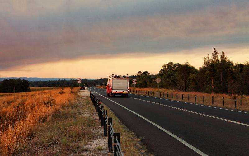 Bushfire disaster support